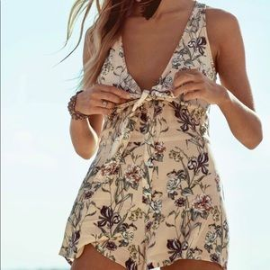 O'Neill Veda floral romper jumpsuit